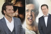 Bradley Cooper & Ed Helms, Hangover premier, Chinese Theater, Hollywood