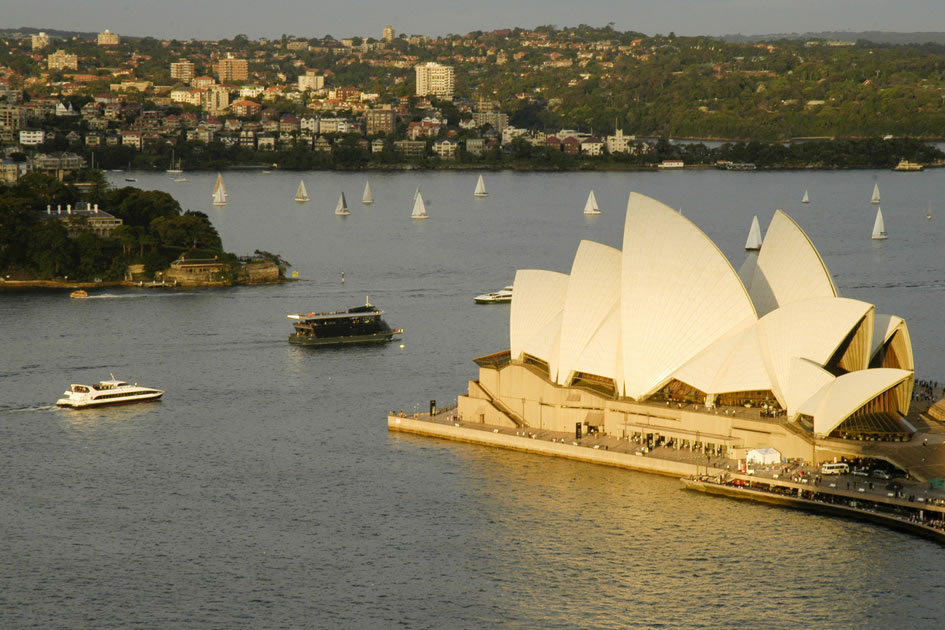 The Opera House in the late afternoon, Sydney
