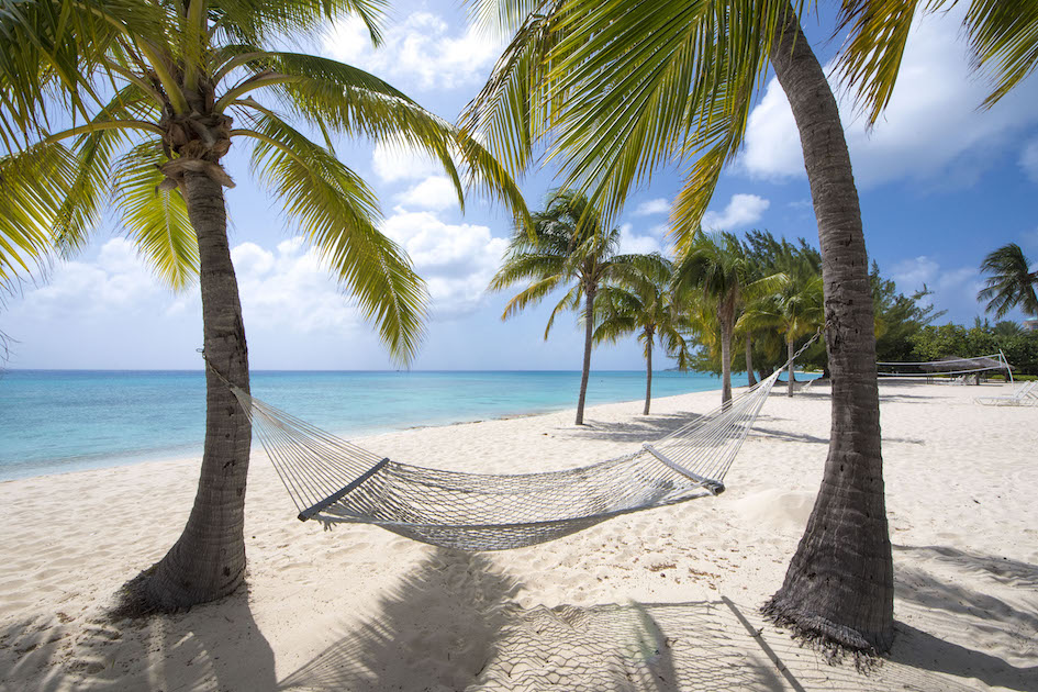 Hammock, perfect for lazy Cayman days, Grand Cayman