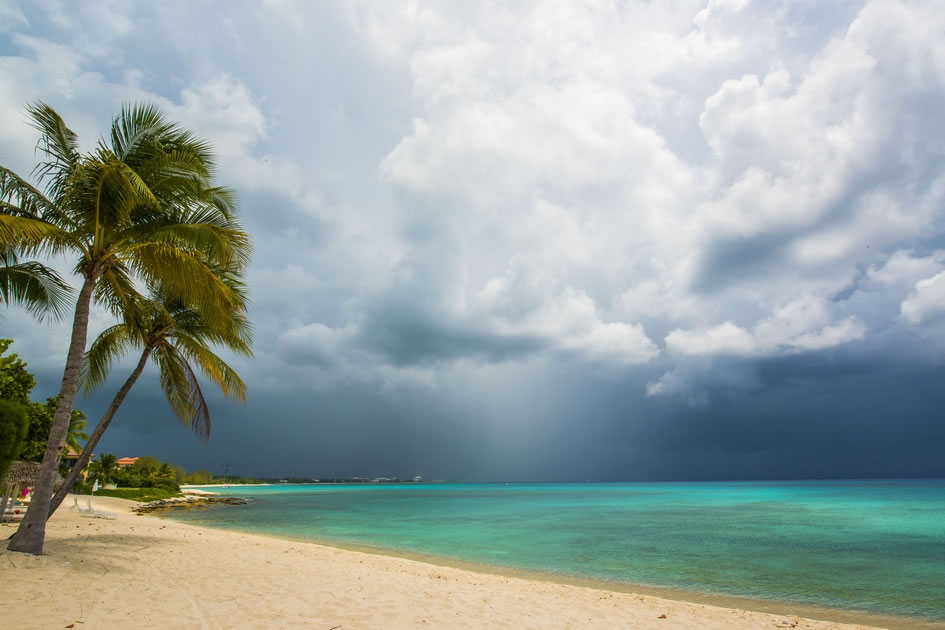 Storm over Seven Mile Beach