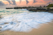 Stormy seas at Smiths Cove, Grand Cayman