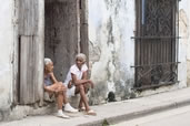 Watching life go by on the streets of Havana