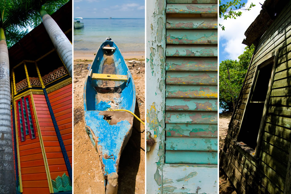 Colors of Utila