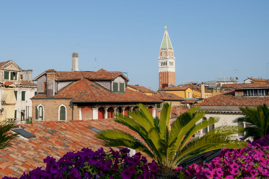 View of St. Mark's Campanile, Venice