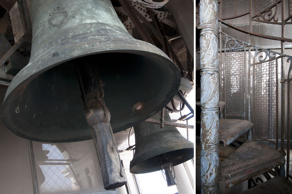 The bells of St. Mark's Campanile, Venice