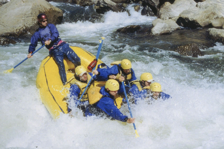 Rafters hitting Pine Creek