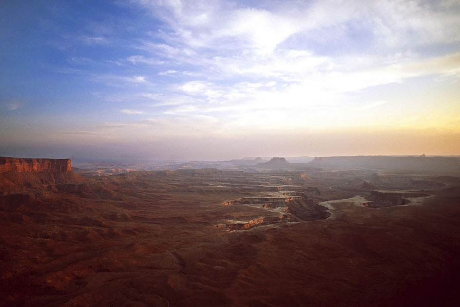 The Canyonlands viewed from the Island in the Sky