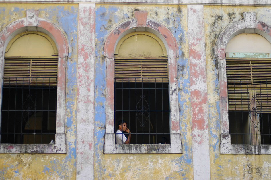Old building in Iquitos