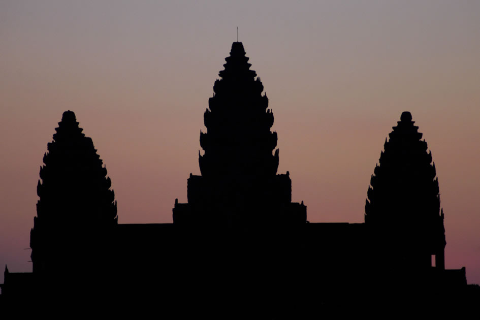 Angkor Wat at dawn, Siem Reap