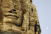 The faces of the Bayon Temple, Siem Reap