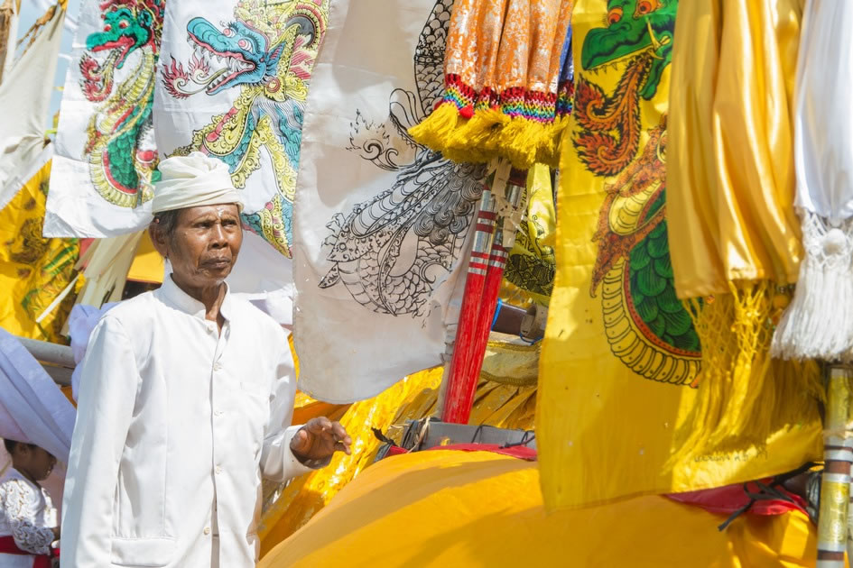 Ceremony Before Nyepi, Bali