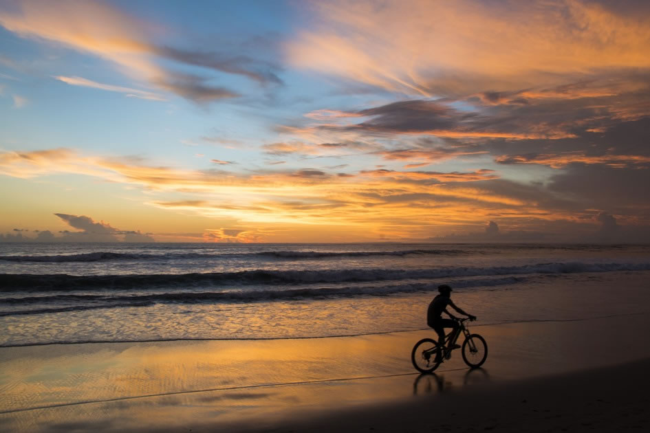 Bikes on the Beach, Canggu, Bali