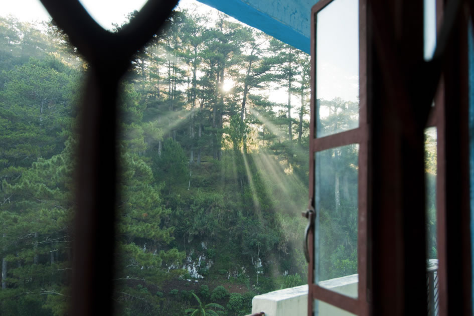 Morning light, Sagada