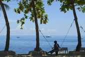 A swing with a view, Malapascua