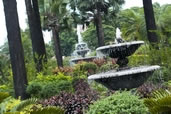 Fountains in a park, Manila