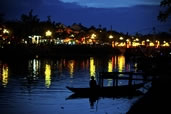 Dusk at the Thu Bon River, Hoi An